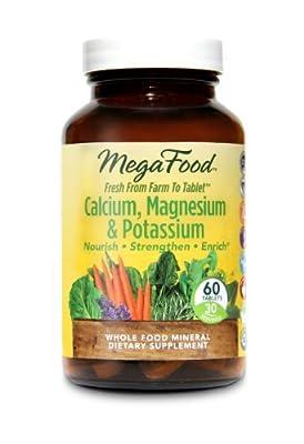 MegaFood - Calcium, Magnesium & Potassium