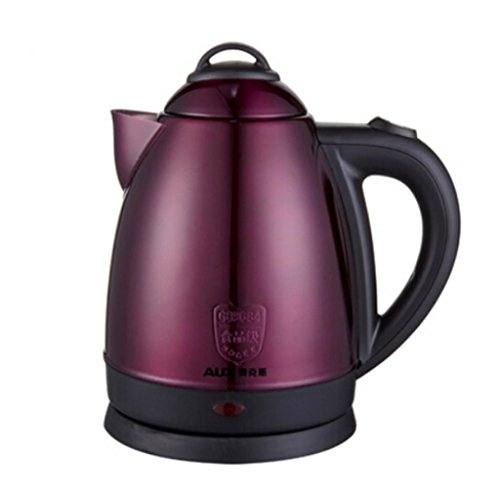 Great Value Small Kitchen Appliances S1504A-150 Skg 360 Degree Cordless Electric Kettle 2.0-Liter Stainless Steel Cordless Electric Kettle