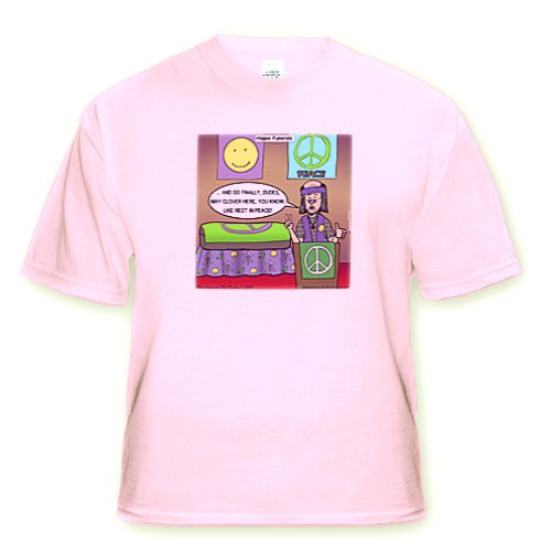 Hippie Funeral Rest in Peace - Youth Light-Pink-T-Shirt Med(10-12)