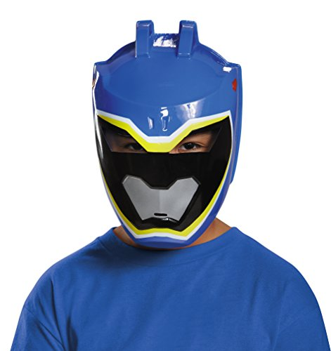 Disguise Blue Ranger Dino Charge Vacuform Mask Costume (Power Rangers Blue Costume compare prices)