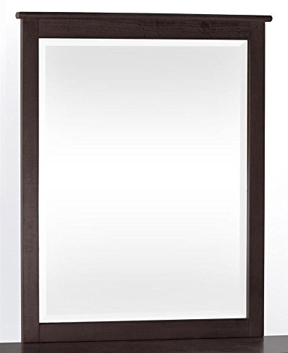 School House Dresser And Mirror Set In Chocolate front-630874