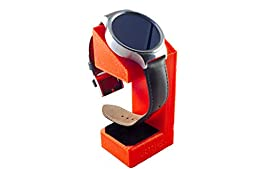 Huawei Watch Stand, Artifex Charging Dock Stand for Huawei Watch, New 3d Printed Technology, Smartwatch Cradle (Red)