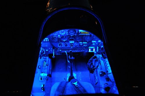 LED Light Strip LED Lighting BLUE color for Auto Airplane Aircraft Rv Boat Interior Cabin Cockpit LED Light