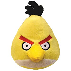 "Angry Birds 4"" Mini Plush With Sound - Yellow Bird"