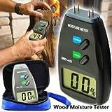 4 Pin Digital Gardening Wood Moisture Tester Meter Damp Detector Tester