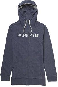 Burton Damen Top Premium Sleeper Fullzip, Heather Night Rider, 32/34 (XS), 11314100433