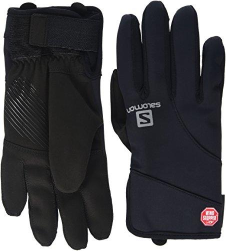 Salomon Equipe Windstopper Glove - Guanti da uomo, colore Nero, taglia S