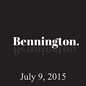 Bennington, Jim Gaffigan, July 9, 2015 Radio/TV Program