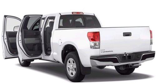 "Mtx Ttddc07Fb10U Custom Toyota Tundra Double Cab Unloaded 10"" Subwoofer Enclosure"