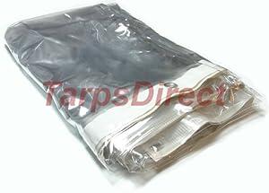 10' x 10' Clear Vinyl Tarps - 20 MIL