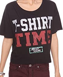 Jersey Shore: T-shirt Time Crop Tee - Girls