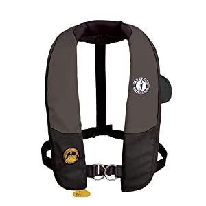 Mustang Deluxe Auto Hydrostatic Inflatable PFD w Harness Universal by Mustang Survival