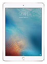 Apple iPad Pro (9.7 inch Multi-Touch) Tablet PC 32GB WiFi Bluetooth Camera Retina Display iOS9 (Rose Gold) - UK Plug
