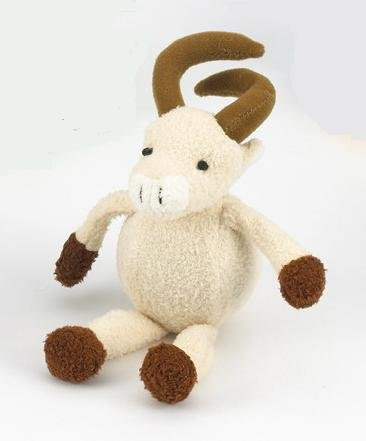 Purr-Fection Alpine Bouncy Buddy Ram Plush