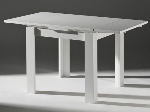 Kuchentisch ausziehtisch weiss 80x80cm comforafrica for Küchentisch wei