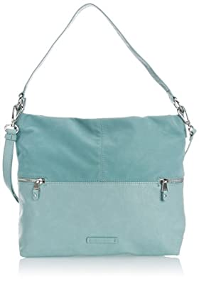 Esprit Womens Eve Hobo Shoulder Bag 054EA1O013 Dark Frozen Mint