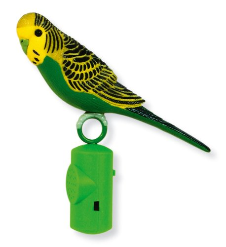 Hagen Living World Life-Size Singing Parakeet, Colors may Vary