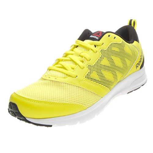 Reebok Uomo Rush 2.0 scarpe da corsa giallo Size: EU 43