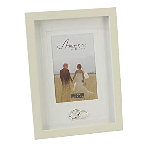Amore MDF Frame with Crystal Rings 3 Tier Mount 4'' x de Dropship