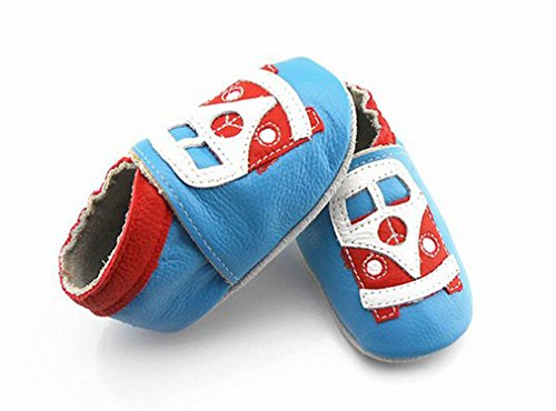 Baby Infant/Toddler Sneaker Soft Sole Leather Shoes,First Shoes(0-6M)