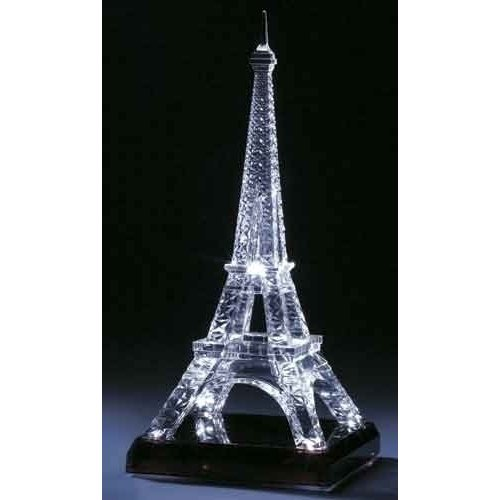 15 75 Led Lighted Eiffel Tower Battery Operated