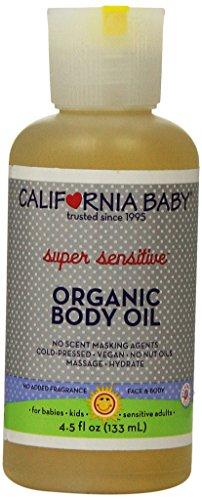 California Baby Body Oil - Super Sensitive, 4.5 oz - 1