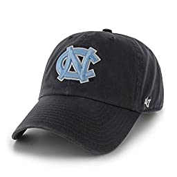 NCAA North Carolina Tar Heels \'47 Clean Up Adjustable Hat, Navy, One Size