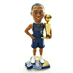 DALLAS MAVERICKS #0 SHAWN MARION NBA OFFICIAL 2011 CHAMPIONSHIP TROPHY BOBBLEHEAD... by FOREVER
