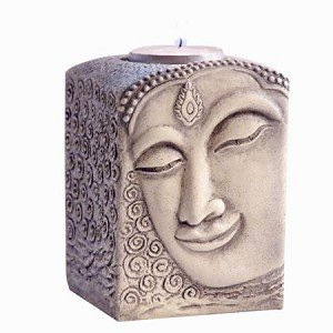 Buddha Tealight Candle Holder - Exceptional Gift for Home or Office