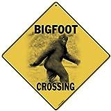 "12"" Square All Metal Bigfoot Crossing Sign"