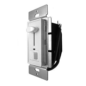 ul listed wall mount low voltage led dimmer switch dc12v 72w with top slider. Black Bedroom Furniture Sets. Home Design Ideas