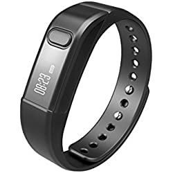 OUMAX® FIT T1S Activity and Fitness Tracker -Black