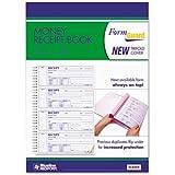 """REDIFORM Formguard Money Receipt Book, Four per Page, 2.75 x 7"""" 100 Pages (8L808R)"""