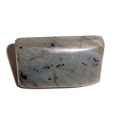 Labradorite Pin 02 Crystal Rectangle Sheen Spectrolite Brooch Stone 1.4