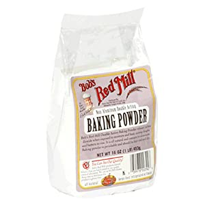 Bob's Red Mill Baking Powder, 16-Ounce Packages (Pack of 4)