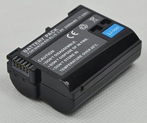 Brand new BTBAI® 2499mah li-ion rechargeable battery for nikon EN-EL15 ENEL15 EN-EL15a ENEL15a EN-EL15e ENEL15e for nikon V1 D600 D7000 D7100 D800 D800E dslr camera