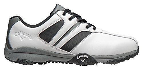 Chev Comfort Herren Golf, Weiß (White/Black), 41