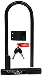 kryptonite keeper 12 ls bicycle u lock with bracket bicycle u lock 4 inch x 11 5. Black Bedroom Furniture Sets. Home Design Ideas