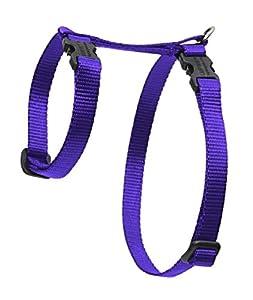 "Lupine 1/2"" Purple 12-20 H-Style Pet Harness"