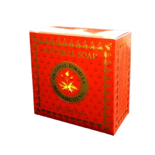 MADAME HENG NTURAL SOAP Care Spa Rose