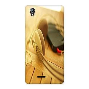Ajay Enterprises Phone HeadPhon Design Back Case Cover for Lava Iris 800