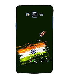 printtech Indian Flag Art Back Case Cover for Samsung Galaxy A5 / Samsung Galaxy A5 A500F