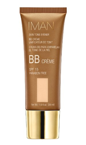 Iman Cosmetics BB Crème Unificateur de Teint SPF 15 Sand Light