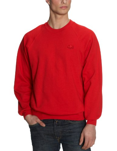 Fruit of the Loom Men's Sweatshirt  Red Small