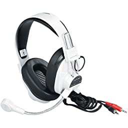 CII3066AV - Deluxe Multimedia Stereo Wired Headset 3.5Mm Plug Via Ergoguys