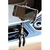 KamO Claw phone holder Universal iPhone car Mount Phone, Oculus rift sensor clamp anywhere grip anything iPhone car holder for iPhone 6,6+,Samsung,Attach to Car Headrest,Dashboard, Bike/Bicycle