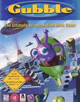 Gubble (Mac) the Ultimate Arcade Action Maze Game