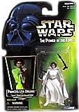 Hasbro Star Wars Power Of The Force Princess Leia Organa Green Card Action Figure