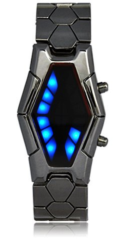 futuristic watch, Binary watch, geek watch, nerd watch, Fashion Led Watch, japanese watch