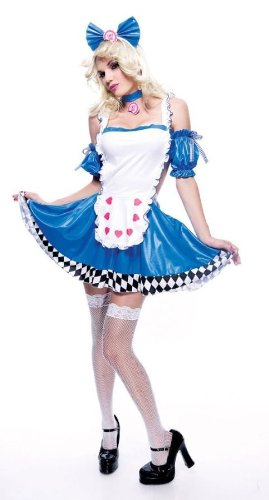 Costumes For All Occasions PM721073 Large Wicked Wonderland Econ Alice